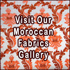 Moroccan Fabrics, Moroccan Textiles, Exquisite Moroccan Upholstery Fabrics