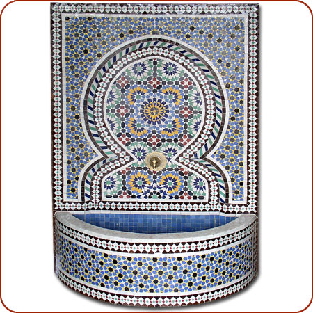 Name Fez Mosaic Tile Fountain