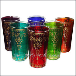 Arabesco Tea Glasses