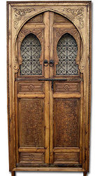 Carved Cedar Door