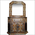 Ryad Moroccan Console and Mirror