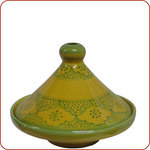 Salma Yellow Serving Tagine