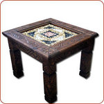 Dchira Square Mosaik Table