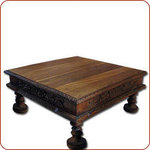 Carved Bajot Table