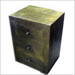 Hammered Moroccan Night Stand