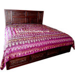 Sultana Palatinate Purple Bedspread