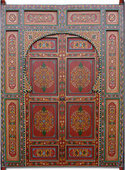 Moroccan Painted Door