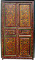 Zouak Moroccan Painted Door