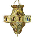 Fez Star Moroccan Hanging Lamp